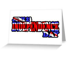 UK INDEPENDENCE DAY - JUNE 23 Greeting Card
