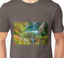 Plitvice Lakes National Park in Croatia Unisex T-Shirt