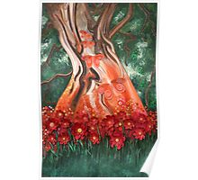 Sit under the tree of fairie and dream a little while. Poster