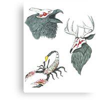 Creatures of Grimm Canvas Print