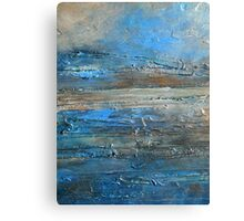 abstract landscape fine art painting coastal themed decor PACIFIC COAST Canvas Print