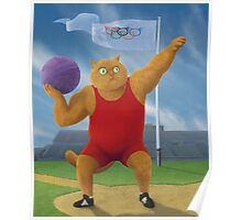 Cat Olympics Poster