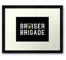 BRUISER BRIGADE 2 ( Danny Brown )  Framed Print