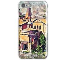 Rome buildings iPhone Case/Skin