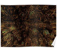Abstract Matrix Poster