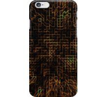 Abstract Matrix iPhone Case/Skin