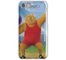 Cat Olympics iPhone Case/Skin
