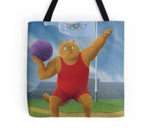 Cat Olympics Tote Bag