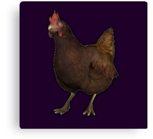 CSGO Chicken Canvas Print