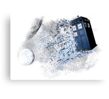 I stole a Timelord and ran away Canvas Print