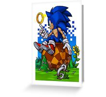 Sonic: Return to Green Hill Greeting Card