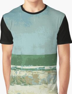 #3 Lines and colors minimalist abstract art print Graphic T-Shirt
