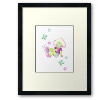 Gameboy Peridot Framed Print