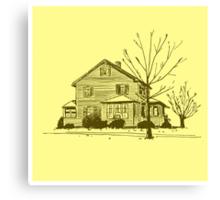 South End House Canvas Print