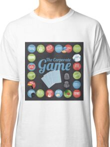 Corporate Game with humorous milestones. Classic T-Shirt