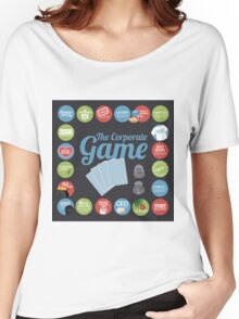 Corporate Game with humorous milestones. Women's Relaxed Fit T-Shirt