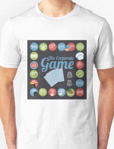 Corporate Game with humorous milestones. Unisex T-Shirt