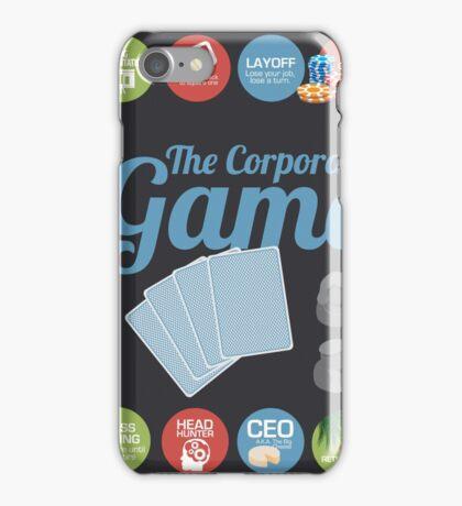 Corporate Game with humorous milestones. iPhone Case/Skin