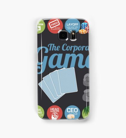 Corporate Game with humorous milestones. Samsung Galaxy Case/Skin