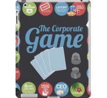 Corporate Game with humorous milestones. iPad Case/Skin