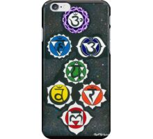 Sanscrit Chakra Painting iPhone Case/Skin