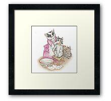 Tom Kitten Framed Print