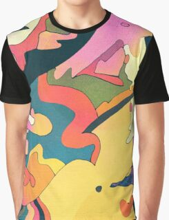 Abstract Art Color Graphic T-Shirt