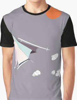 Paper Spaceship 1 Graphic T-Shirt