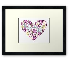 Swallow Song Framed Print