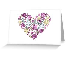 Swallow Song Greeting Card
