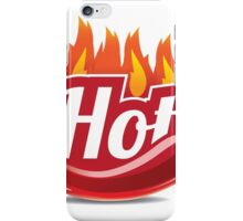 Hot jalapeno or chili  iPhone Case/Skin