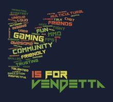 Vendetta Gaming Community Kids Tee