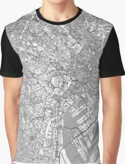 Tokyo Map Line Graphic T-Shirt