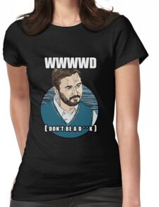 WWWWD - What Would Wil Wheaton Do? (Safe) Womens Fitted T-Shirt