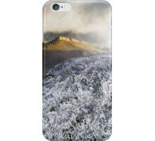 Mount William Snow (Panorama) iPhone Case/Skin
