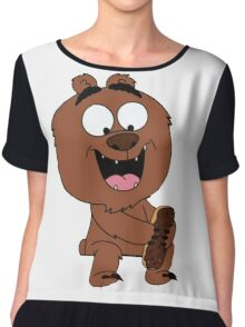 Malloy from Brickleberry Chiffon Top