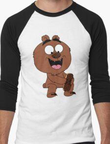 Malloy from Brickleberry Men's Baseball ¾ T-Shirt