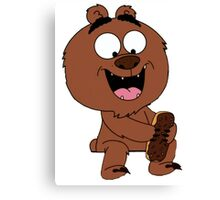 Malloy from Brickleberry Canvas Print