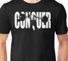CONQUER (Weightlifting Iconic) Unisex T-Shirt