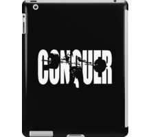 CONQUER (Weightlifting Iconic) iPad Case/Skin