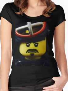 Mr. Kendo Fighter Women's Fitted Scoop T-Shirt