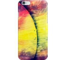 Solar storm 4 - watercolor abstraction painting iPhone Case/Skin