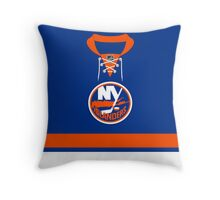New York Islanders Home Jersey Throw Pillow