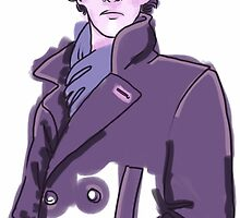 Purple Sherlock by stitchlock