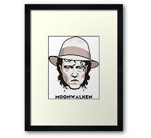 moonwalker Framed Print