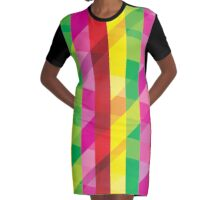 Create Pattern Colors  Graphic T-Shirt Dress
