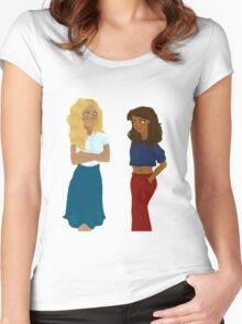 Pipabeth Women's Fitted Scoop T-Shirt