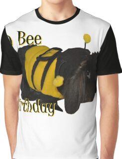 Hop Bee Birthday Graphic T-Shirt