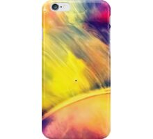 Solar storm 2 - watercolor abstraction painting iPhone Case/Skin