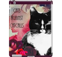 Cats against Catcalls iPad Case/Skin